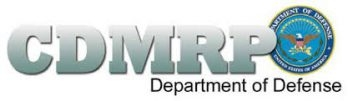 CDMRP: Department of Defense