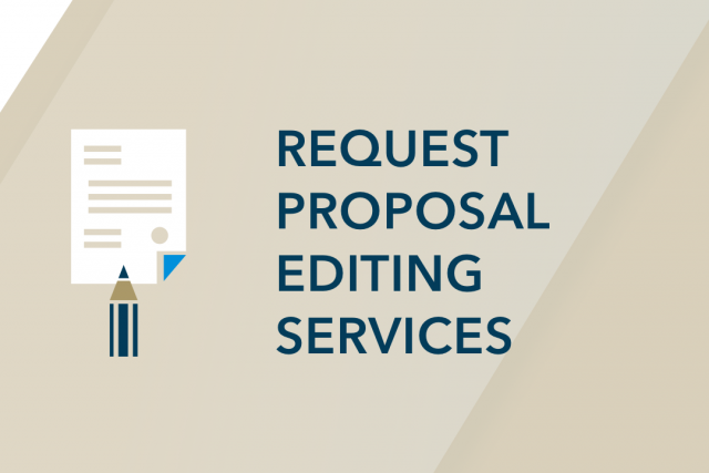 Request Proposal Editing Services