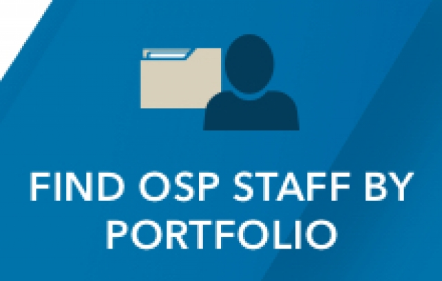 Find OSP Staff by Portfolio