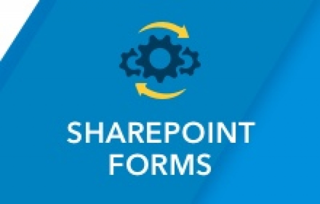 Sharepoint Forms Button with Gears and Circulating Arrows