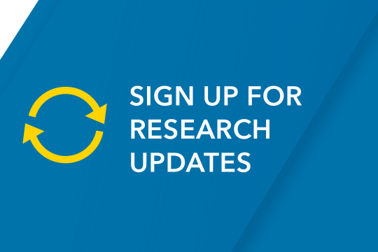 Sign Up for Research Updates